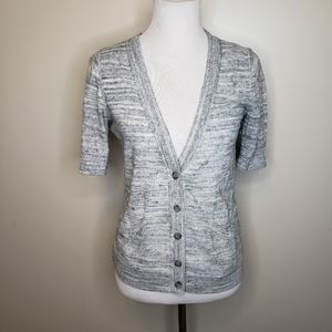 🌵Mossimo gray short sleeve cardigan